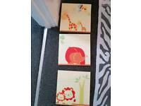Nursery wall pictures