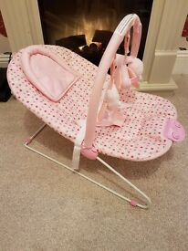 Chad valley pink deluxe bouncer