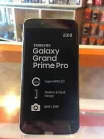 * BRAND NEW * Samsung Galaxy Grand Prime Pro, black, 16 GB, unlocked