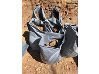 Free base/rubble all bagged can collect or deliver