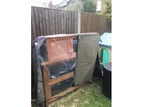 Double hutch and thermal cover. Pick up SW177px tooting bec