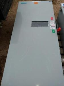 Siemens 400 Amp, 600 Volt Heavy Duty Fusible Disconnect with Class J fuses installed