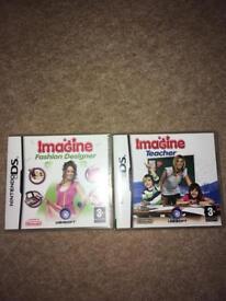 Imagine DS game set