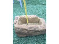 Sandstone troughs