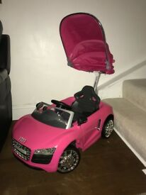 Audi push buggy car