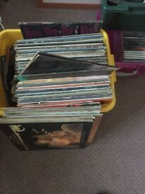 Vinyl.. lots of albums and singles .. Apple singles .. beatles.. mixed albums .