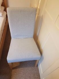 Ikea HENRIKSDAL Chairs Oak x 4 Nearly New (5 months old)
