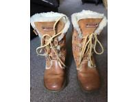 Fat Face sheepskin boots