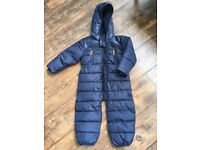 J by Jasper Conrad unused navy blue cosy suit 2-3 years