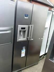 Fridge freezer American (Beko) with water and ice dispenser