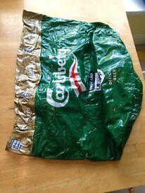 Inflatable beer cooler/ice bucket