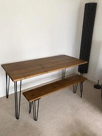 Dining Table And Bench Brand New