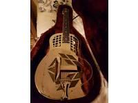 National mark resonator guitar