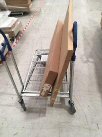 GALANT Shelf unit, oak veneer 80x120 cm Was £150 IKEA Aberdeen #BargainCorner #CircularHub
