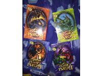 Beast quest books Arachinid, Septon, Vedra & Krimon, Ferno