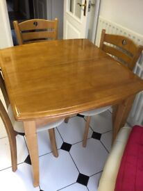 Small Table and 4chairs