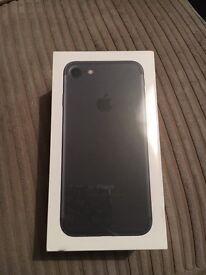 Apple iPhone 7 plus 256gb Matt black, new sealed O2