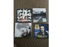 4 Springsteen cds