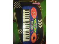 Musical piano toy