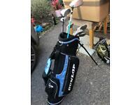 Dunlop child golf set