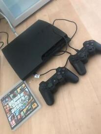 PS3 slim with GTA