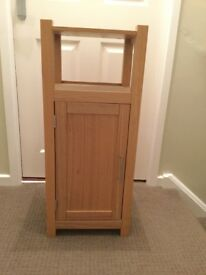 Wooden free standing bathroom cabinet