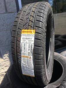 225/65/17 CONTINENTAL CROSSCONTACT NEUF... (HAUTE GAMME)