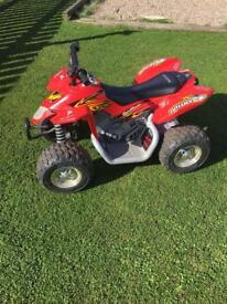 Kids 12v battery Suzuki quad