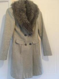 Coat size 8 red herring