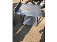 Stanles steel table