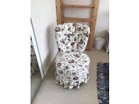 Cute bedroom chair