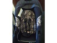 Baby weaver kiddicare from birth unisex car seat ml5