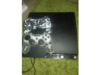 Ps3 with games on hard drive including fifa 18