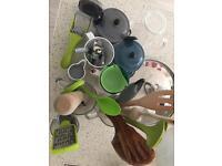 Kitchen utensils job lot