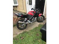 Honda 125 Motorbike