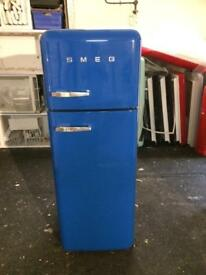 RESPECTED SELLER! LOVELY ROYAL BLUE SMEG FAB30 + warranty. Can deliver/view