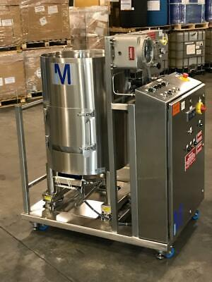 Millipore Emd 250 Liter 304 Stainless Steel Portable Mixing Tank Vessel Haz Loc