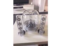 Harman Kardon Speakers with Subwoofer and Power Adaptor. Works with PC / Laptop / iPhone etc
