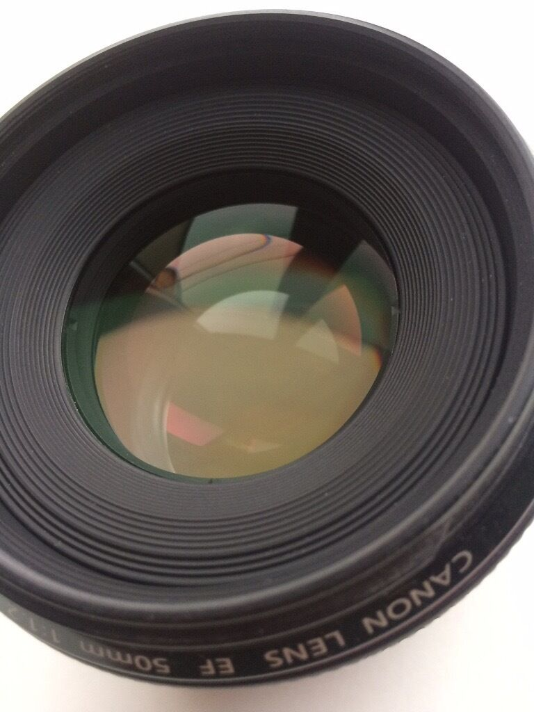 Canon 50mm f1.2 prime lens - excellent condition