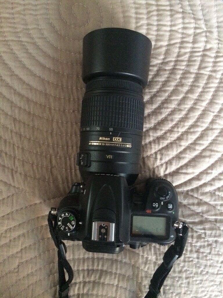 Nikon d7000 and 55-300mm lense