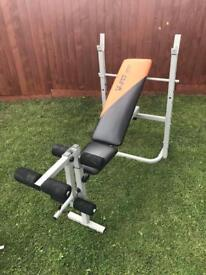 V-Fit Herculean Folding Weights Bench