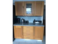 Used solid oak doors kitchen cabinets
