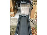 Treadmill - pre-loved Horizon Fitness with speed settings, distance and time display