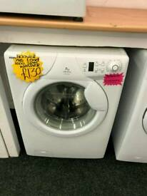 HOOVER 7KG 1600 SPIN WASHING MACHINE IN WHITE