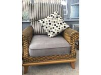 Conservatory settee & 2 chairs