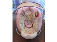 Bright Stars Musical & Vibrating Baby Bouncer