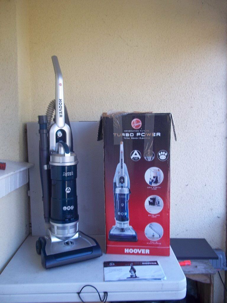 HOOVER TURBO POWER UPRIGHT BAGLESS PET VACUUM CLEANER- EX DEMO MODEL - BOXED & COMPLETE