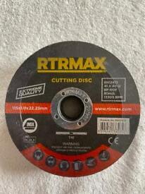 Angel grinder 4.5 steel cutting discs must go