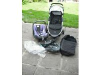 BRITAX FOLDING PUSHCHAIR,CARRIER,ISOFIX BASE