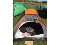 Double skin 2-3 man tent